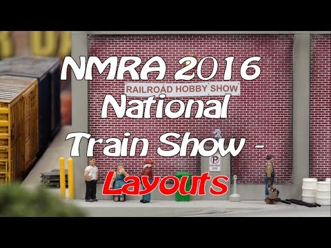 NMRA 2016 National Train Show - Layouts