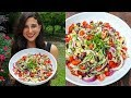 BEST Greek Salad Recipe | FullyRaw Vegan