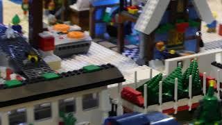 Santa's Toy Factory at Brickenburg Winter Exhibition 2019
