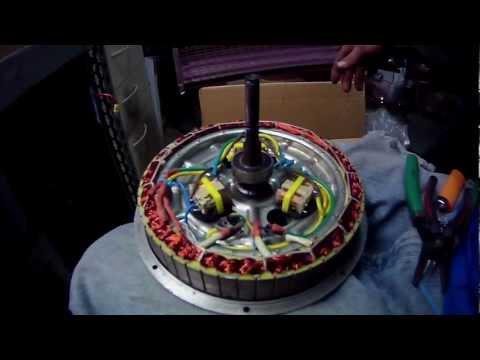 1000 Watt Electric Bike Hub Motor Internal Relay Star/Delta (Pre Install) Clip #3