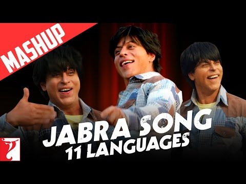 Mashup - Jabra Song | 11 Languages | FAN Anthem | Shah Rukh Khan