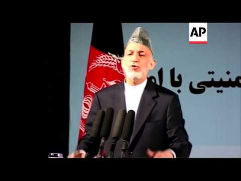 Afghan president says he's in no hurry to sign security agreement with US