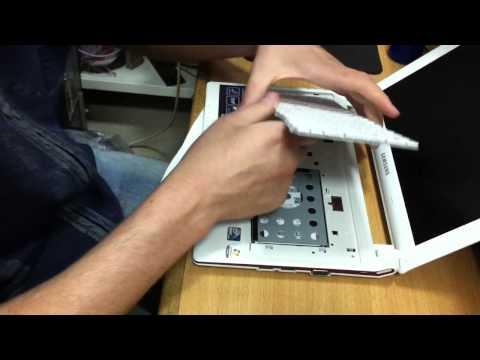 Demontage Netbook samsung N150.MOV