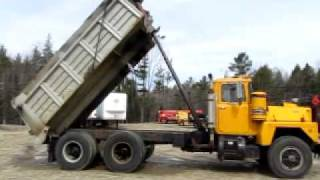 Mack RD686S Dump Truck 10 Wheeler for sale at www.ATTHE.com