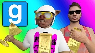 Gmod Deathrun Funny Moments - Gold Rush! (Garry