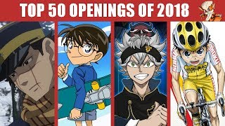 Mon TOP 50 Anime Openings (of 2018)