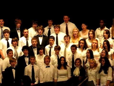 2010-05-20 08 NHSS Spring Concert-Combined Choirs-Shut de Do.AVI