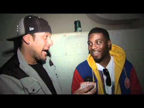 Video Hot Mix TV - Backstage with Def Jam recording artist Mann