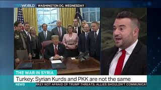President Trump calls for Syria buffer zone as US troops withdraw