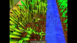 Minecraft выживание в плоском мире #1