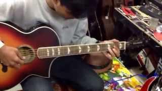 Belajar intro lagu Eric Clapton tears in heaven