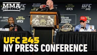 UFC 245: Usman vs. Covington Press Conference - MMA Fighting