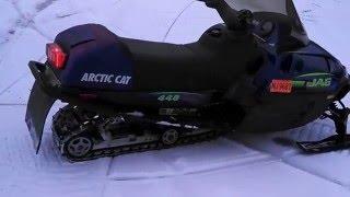 1998 Arctic Cat 440 JAG walk around and ride