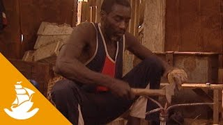 The blacksmith in the Mauritanian port