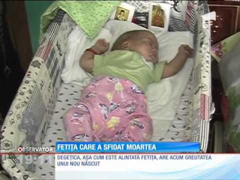 Fetita care a sfidat moartea