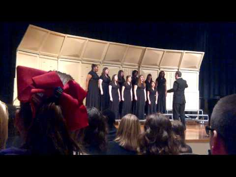 """Ubi Caritas"" written by Ola Gjeilo- Pascagoula High School's Ladies Ensemble ""NoteWorthy"""