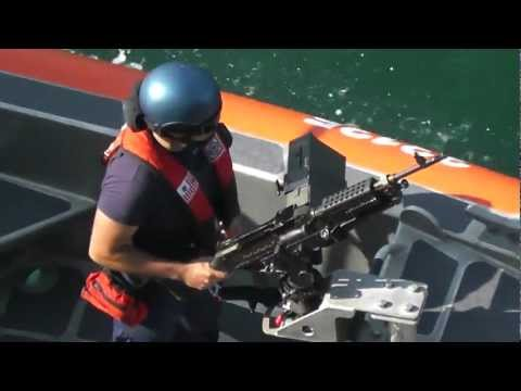 Allure of the Seas - US Coast Guard Escort - Port Everglades Departure 4/1/12