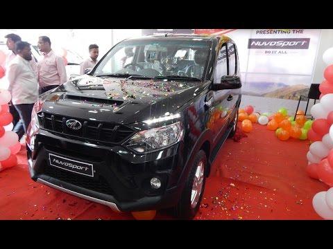 Mahindra Nuvosport Launch :: Nuvosoprt N8 Black::Walkaround review::