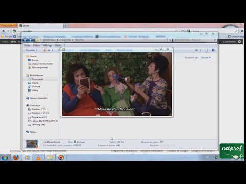 Mettre des sous-titres avec le lecteur Windows Media Player