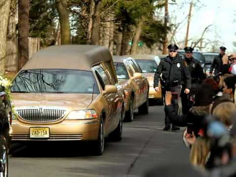 Whitney Houston's Funeral And Burial Photos - 02/18-02/19/12