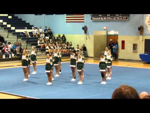 Boylan Catholic High School @ Guilford Cheerleading Competition 2013