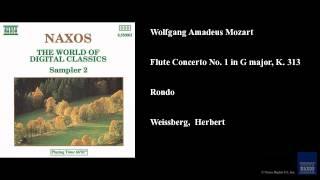 Wolfgang Amadeus Mozart Flute Concerto No 1 In G Major K 313 Rondo