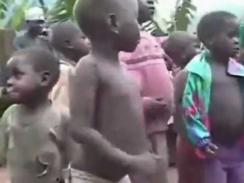 Hardstyle Party In Uganda  Dj Kony and 30 000 dancing child army 2012