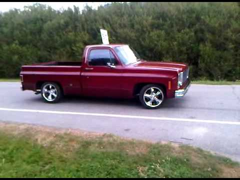 1969 Chevy Truck For Sale >> 1975 chevrolet c10 burnout - YouTube