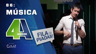 FILA DE PIADAS - MÚSICA - #86 Participação Fabiano Cambota