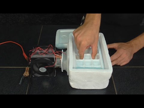 Холодильник в машину 12 вольт своими руками