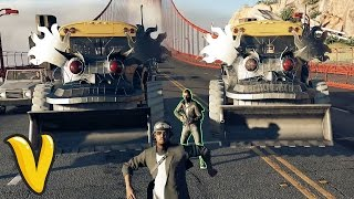 WATCH DOGS 2 NEW BUS OF DESTRUCTION!!! :: Watch Dogs 2 Fails Funny Moments Compilation!