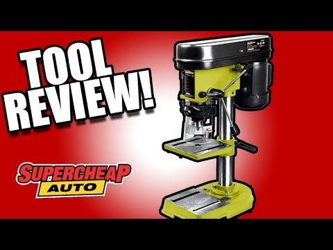 Rockwell Shopseries Drill Press REVIEW