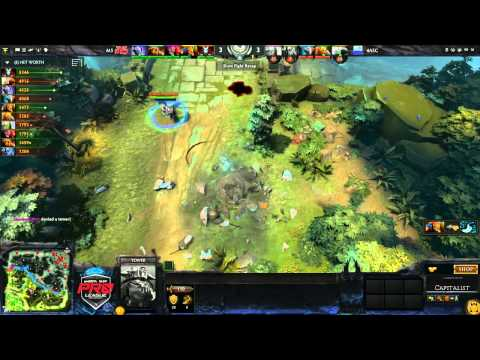 4ASC vs M5 Game 2 - joinDOTA MLG Pro League Season 2 - @DotaCapitalist