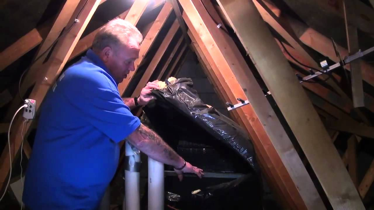 Water And Plumbing Tutorial Part 5 Cold Water Tank Youtube
