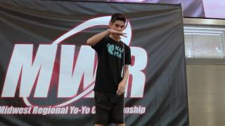 Jared Marcus - 1A Prelim - 3rd Place - MWR 2017 - Presented by Yoyo Contest Central