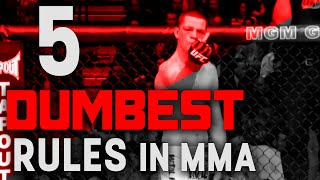 5 Dumbest Rules in MMA