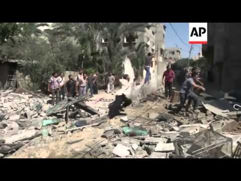 The Israeli military launched and offensive against the Hamas-ruled Gaza Strip on Tuesday, killing a