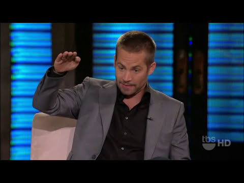 Paul Walker @ Lopez Tonight [HD]