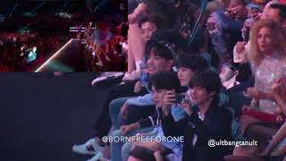 Download Lagu BTS reaction to DUA LIPA @BBMAS Gratis STAFABAND