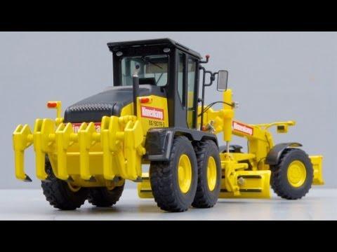 NZG HBM-NOBAS BG 190 TA-3 Motor Grader 'Hinnenkamp' by Cranes Etc TV