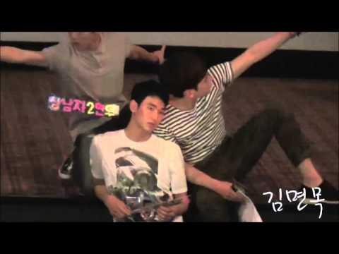 Kim Soo Hyun's hilarious moves