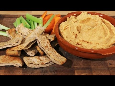 How To Make A Healthy Low Fat Hummus: The Lighter Option - S01E4/8