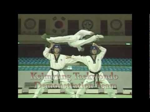 Keimyung Taekwondo Demonstration Team Image 1