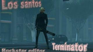 GTA Rockstar editor Terminator (Brad Fiedel -OST Terminator 2 )