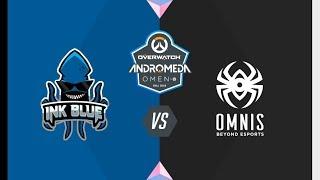 #OWAndromeda Playoffs Vitoria | Ink Blue vs Omnis | Overwatch Andromeda OMEN by HP