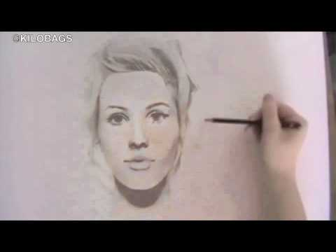 Ellie Drawing Drawing of Ellie Goulding