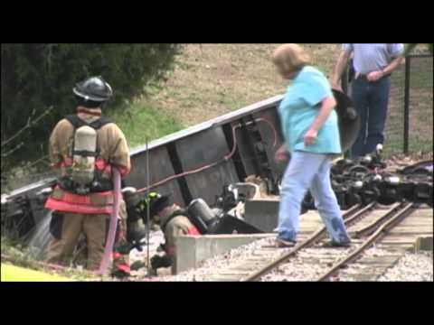Cleveland Park Train Crash in Spartanburg,SC