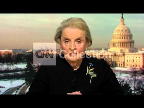 UKRAINE:MADELINE ALBRIGHT-OBAMA'S BEEN VERY CLEAR