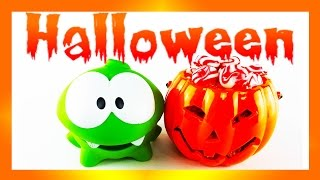 Om Nom New Stories. Halloween Special Party. Witch and Candies