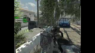 Карта Piazza CoD:MW3 - Multiplayer (hardcore)